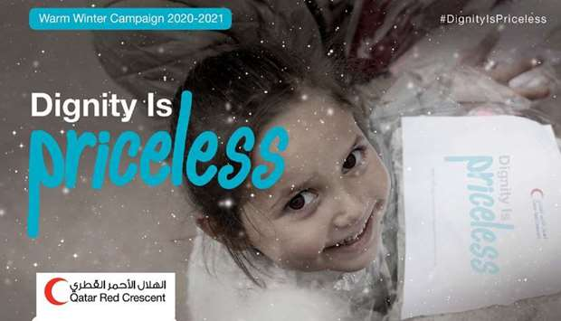QRCS launches Warm Winter Campaign 2020-2021