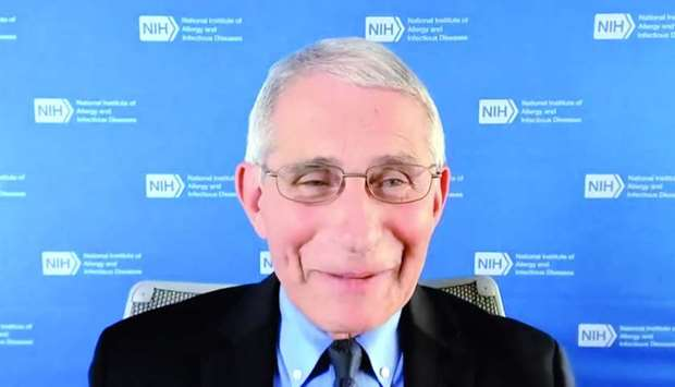 Dr Anthony Fauci addressing WISH 2020 Wednesday