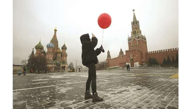 empty Red Square