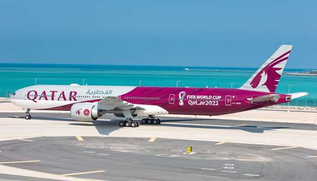Qatar Airways reveals first bespoke FIFA World Cup Qatar 2022 aircraft