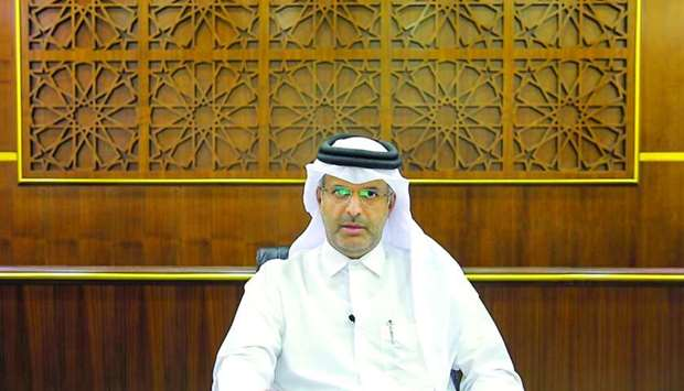 Dr Sheikh Thani bin Ali al-Thani, member of the ICC Arbitration Court.