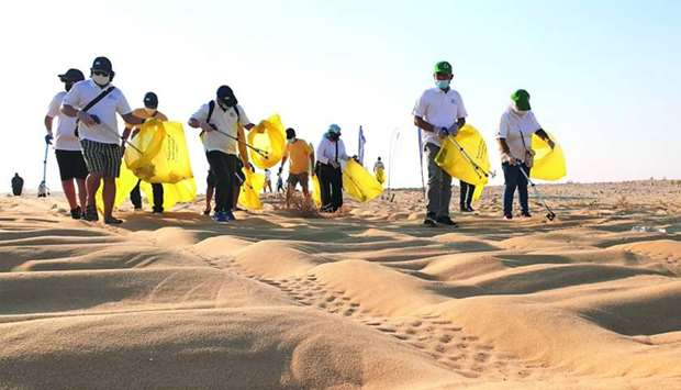 AAB and DEAP hold cleanup at Singing Dunes