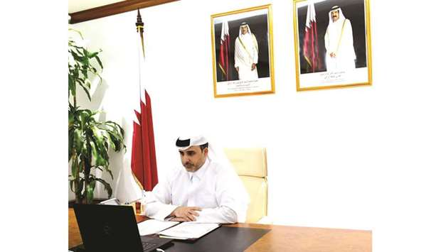 Qatar was represented in the GCC meeting by HE Minister of Municipality and Environment Abdullah bin