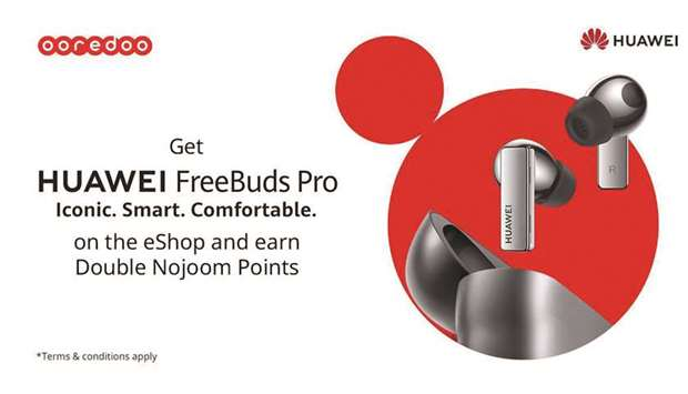 The Huawei FreeBuds Pro are described as the world's first dynamic noise cancellation True Wireless