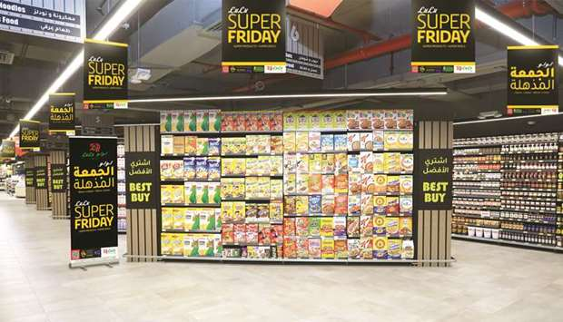 The LuLu Hypermarket 'Super Friday' promotion offers 'massive discounts' on a large variety of produ