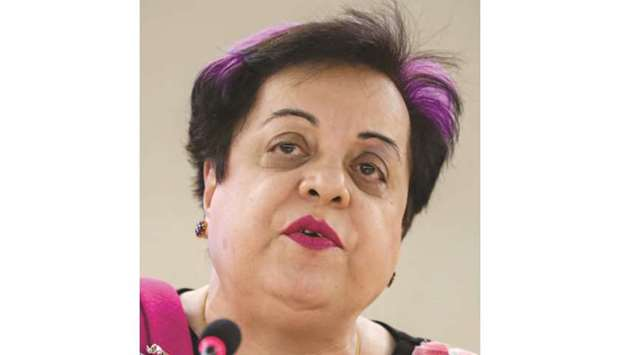 ROW: Shireen Mazari