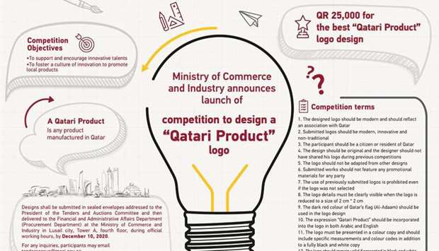 MoCI announces competition for 'Qatari Product' logo design