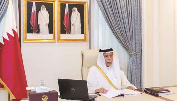 Qatar attends virtual meeting of GCC Shura Council heads