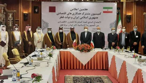 Qatari-Iranian Joint Committee for Trade and Economic Cooperation holds 7th session