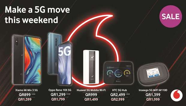 The promotion runs until Saturday, Nov 28, and is valid for purchases made via Vodafone's e-Shop and