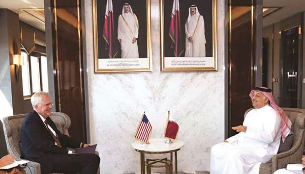 HE the Deputy Prime Minister and Minister of State for Defence Affairs Khalid bin Mohamed al-Attiyah