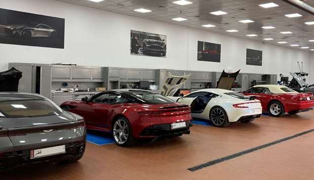 """The after-sales facility features the """"latest in cutting-edge technology, machinery and tools in the"""