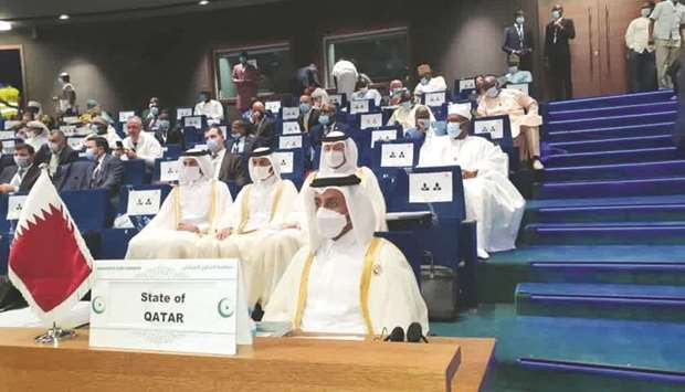Qatar's delegation attends the 47th Session of Council of Foreign Ministers of OIC in Niamey.