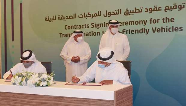 Environment-friendly vehicles contracts key to Qatar Public Transportation Plan: Minister