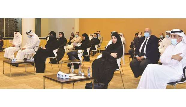 QU officials at the ceremony marking the ISO accreditation of its units.