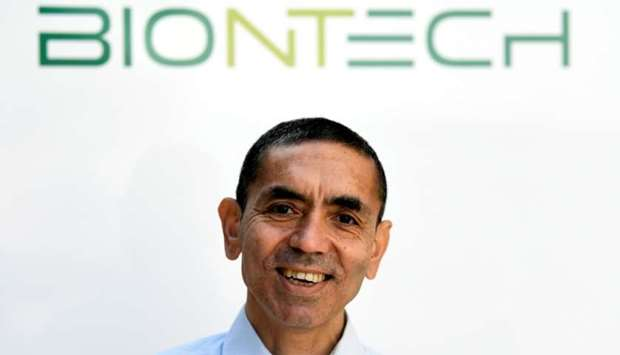 Ugur Sahin, CEO and co-founder of German biotech firm BioNTech
