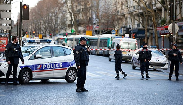 After Paris police station attack