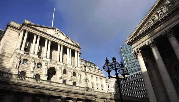 The Bank of England (BoE) building in London. After a tumultuous start to 2016 for global markets an