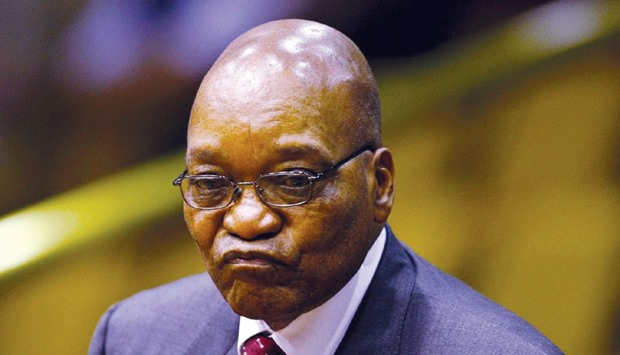 Zuma: missed the Africa panel sponsored by CNBC.