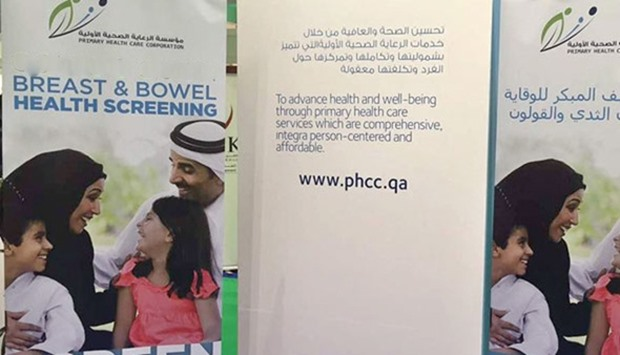 Breast and bowel cancer screening