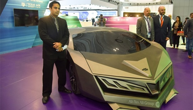 Elibriea - Qatar's first-ever concept car, the Elibriea was unveiled at the Qatar Motor Show.  PIC:
