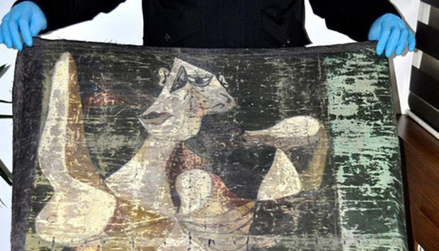 Stolen Picasso painting recovered in Istanbul