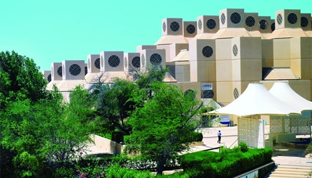 The DR data centre at Qatar University.