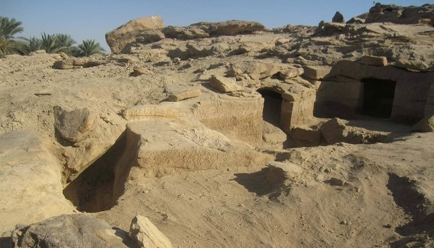 Newly discovered ancient Egyptian cemeteries dating back to the New Kingdom era