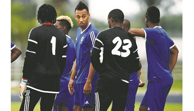 Aubameyang promises better show by hosts