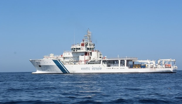 Indian Coast Guard Ship Samudra Pavak