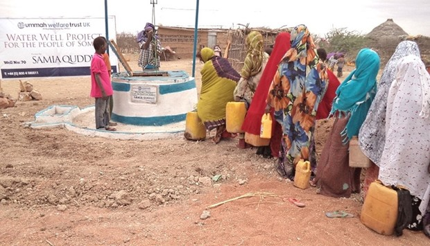 Water well in Somalia (Photo for illustrative purposes only)