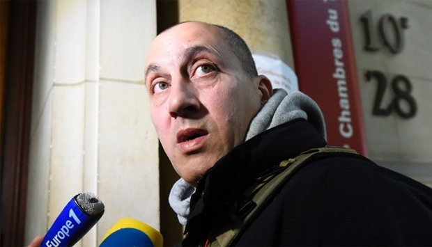 Vjeran Tomic, the main suspect in the case of the 2010 theft of five masterpieces from the Paris Mod