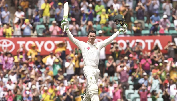 Australia's Warner achieves rare Test feat with rapid century