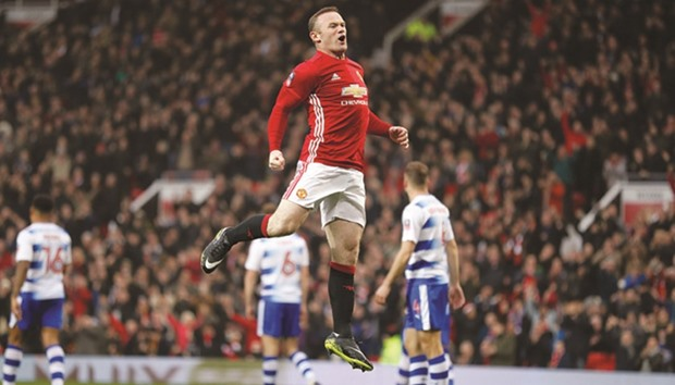 FA Cup: Rooney equals Charlton's record as Manchester United cruise