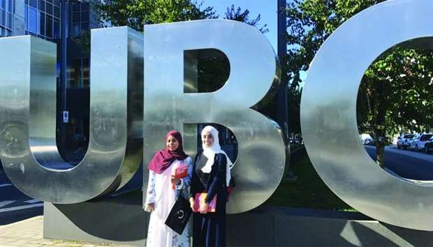 The students during the pharmacy leadership rotation at UBC
