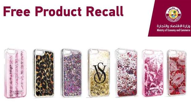 Victoria's Secret liquid glitter iPhone cases