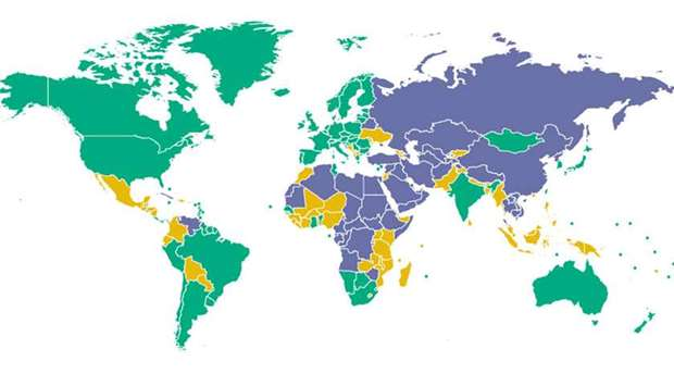 Country Ranking - Freedom