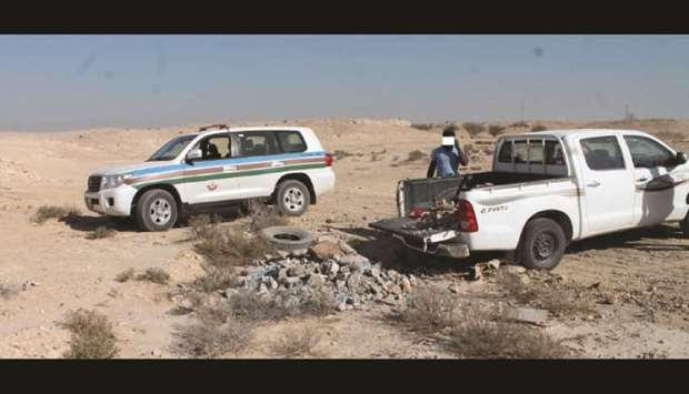 Various types of violations were detected by the MME patrols.