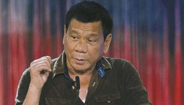 Philippines' Duterte urges other nations to quit ICC