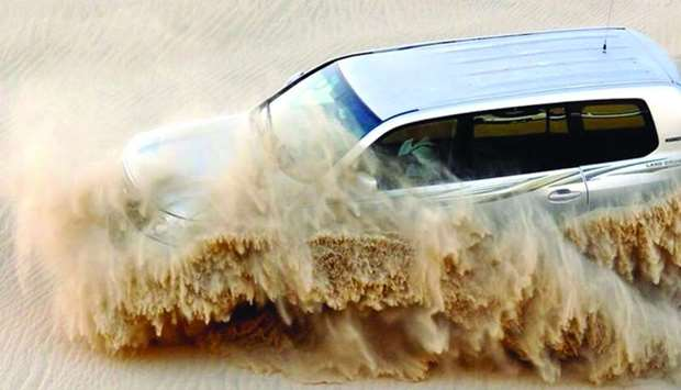 Desert safari adventures are a popular activity in Qatar during the winter season. - picture supplie
