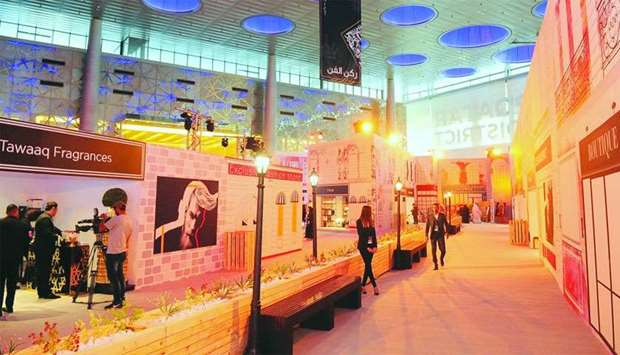 Shop Qatar's Design District features over 60 pop-up shops, showcasing varied offerings. PICTURE: Na