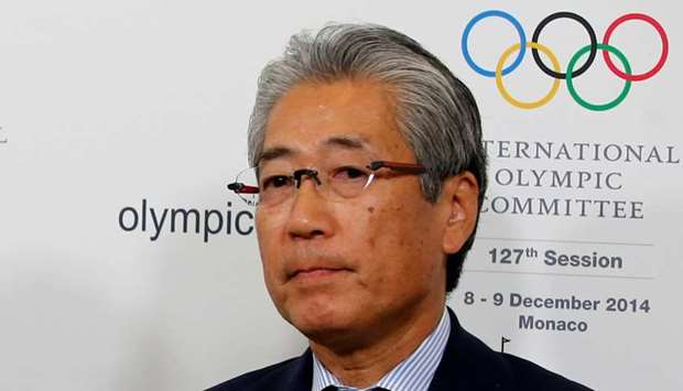 Tsunekazu Takeda, President of the Japanese Olympic committee