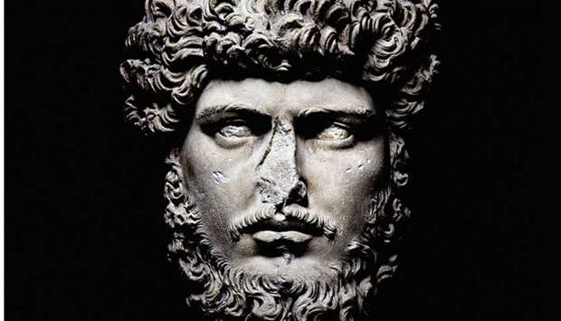 A portrait of Lucius Verus by French photographer Olivier Roller
