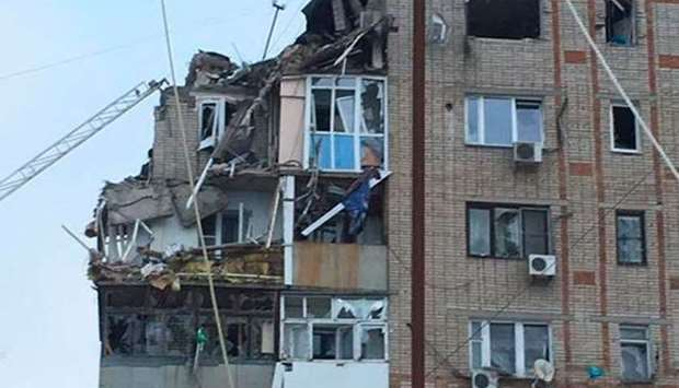 Russian apartment blast