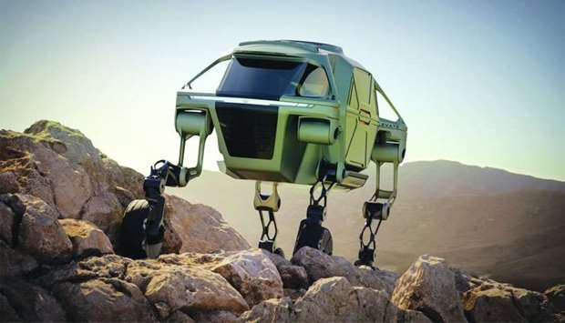 The Hyundai CRADLE Elevate.