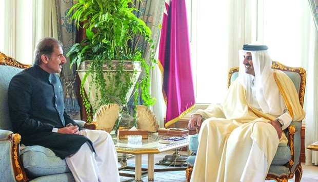 Amir receives Pakistan envoy's credentials