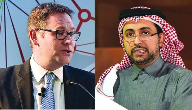 Phil Baty and Dr Hassan al-Derham