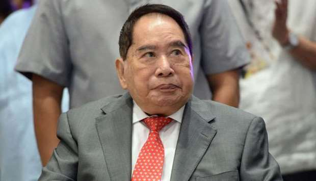 Philippine property tycoon Henry Sy Sr