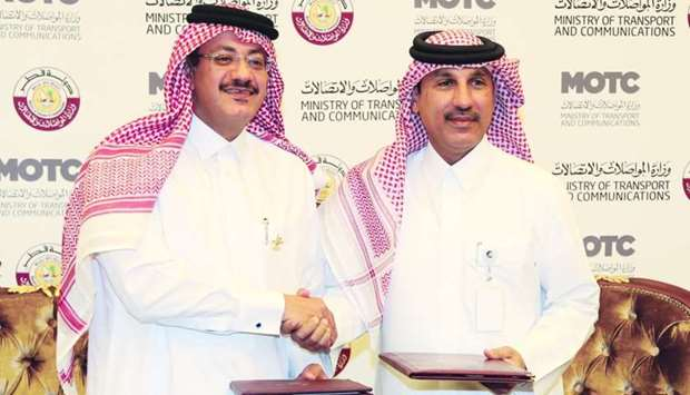 Hassan al-Hail, advisor to HE the Minister of Transport and Communications Jassim Seif Ahmed al-Sula