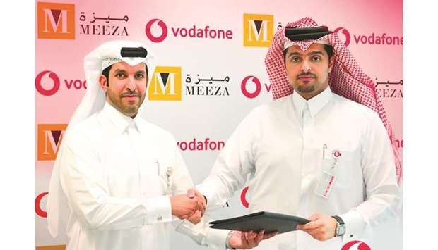 Meeza and Vodafone Qatar renew partnership pact